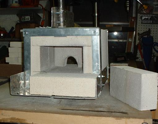 how to make a forge out of bricks
